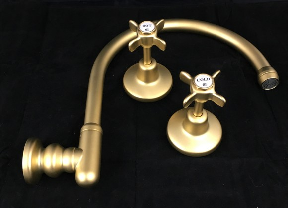 HE3114 in Satin Antique Brass (SAB) finish