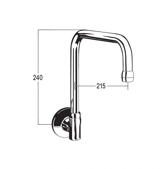 DK6518 Line Drawing