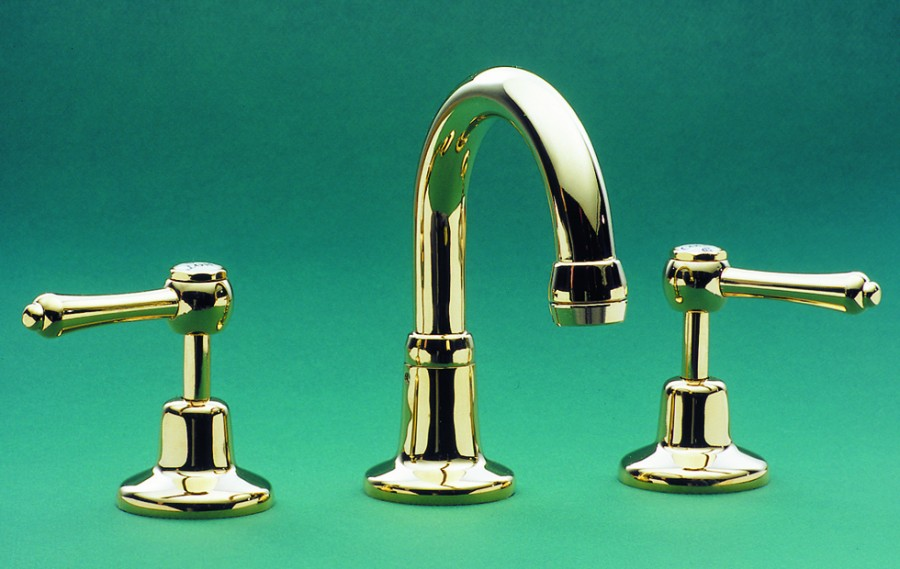 CB | Roulette Lever Basin Set with Swivel Gooseneck Outlet - Basin ...