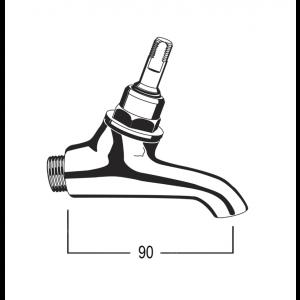 DK0061 Line Drawing