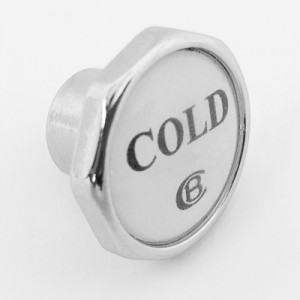 CB Octagonal Button with Cold Insert