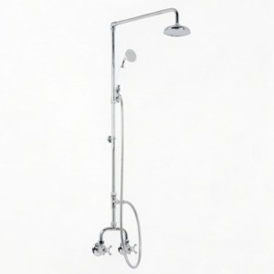 Roulette Alcove Shower Set with Handshower & 1.5m Hose