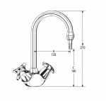 LB36 Line Drawing - Celestial Handles Pictured