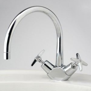 CB Ideal Seaview Sink Duo Mixer with Swivel Floline Outlet