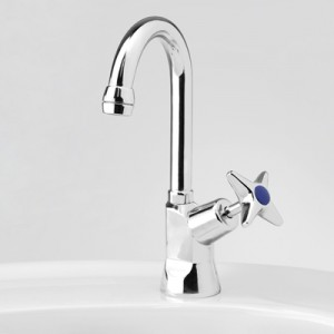 Bellevue Drinking Water Pillar Tap with Swivel Gooseneck Outlet