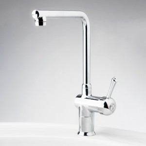 Roulette Lever Flick Mixer with Sink T-Spout Outlet