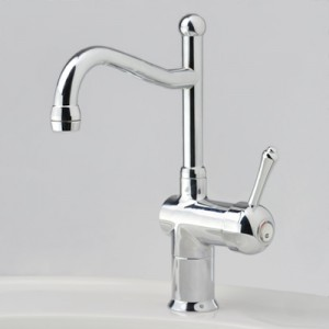 Roulette Lever Flick Mixer with Basin Olde Adelaide Outlet
