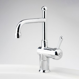 Roulette Lever Flick Mixer with Basin Victor Outlet