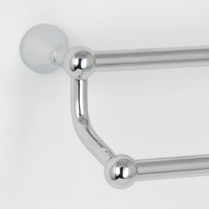 CB Ideal Seaview Double Towel Rail - 600mm Long