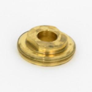 Diverter Crank Retaining Nut [Raw Brass]