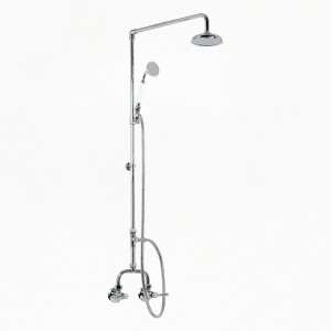 Roulette Lever Alcove Shower Set with Handshower & 1.5m Hose