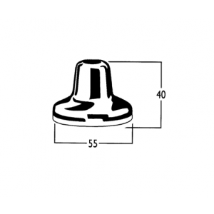 Roulette Lever Basin and Vanity Flange Only
