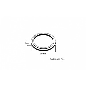 Dress Ring for Wall Flange
