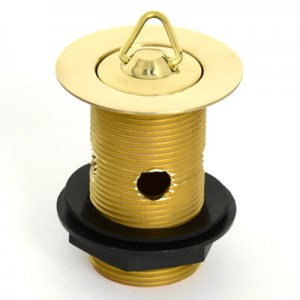 Solid Brass Plug & Waste - 32 x 80 - With Overflow