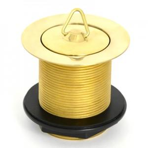 Solid Brass Plug & Waste - 50 x 80 - No Overflow