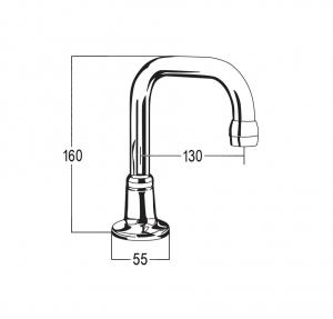 DK6016 Line Drawing