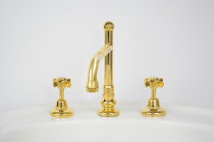 Photo: HE4055 in Antique Brass (AB) finish