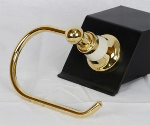 Photo: HE7020AB-BNS - Antique Brass with Ivory Base Insert Upgrade