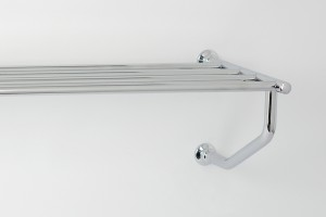 Photo: HE7076 in Chrome Plate (CP) finish, the rack can also be installed this way up if desired.