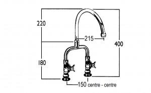 HE9361 Line Drawing