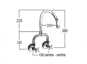 HE9381 Line Drawing