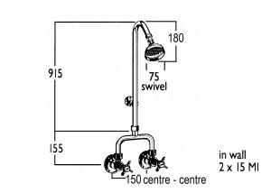 HE9597 Line Drawing
