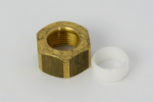 Photo: PA8043 in Raw Brass (RB) finish