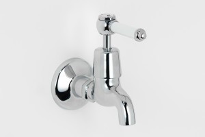 Photo: RL0702 in Chrome Plate (CP) finish with White Lever Insert Upgrade (LCNS)