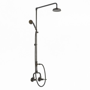 Photo: RL9601 in Weathered Brass (WB) finish with Handshower Handle in Weathered Brass [HH-SCT]
