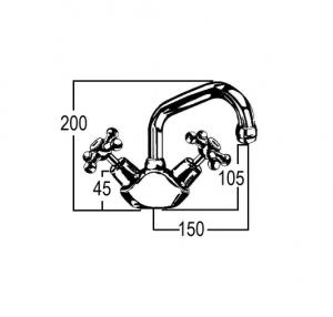 RU5134 Line Drawing