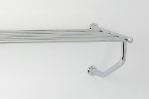 Photo: RU7076 in Chrome Plate (CP) finish, the rack can also be installed this way up if desired.