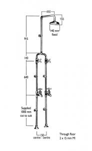 RU9587 Line Drawing