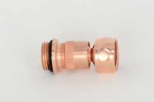 Photo: SA6628 in Dull Copper (DC) finish, shown immediately after manufacture