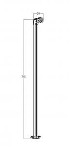 SA7621 Line Drawing