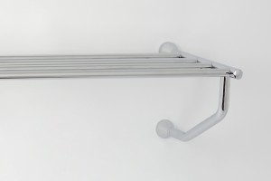 Photo: SV7077 in Chrome Plate (CP) finish, the rack can also be installed this way up if desired.