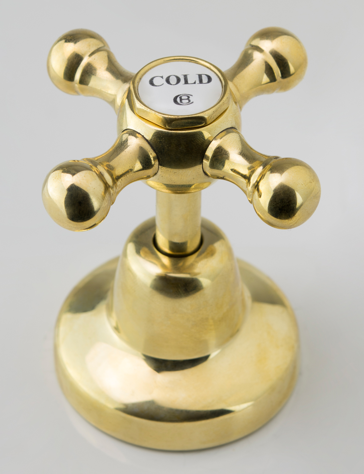 Roulette Basin Top Assembly in Polished Brass Finish