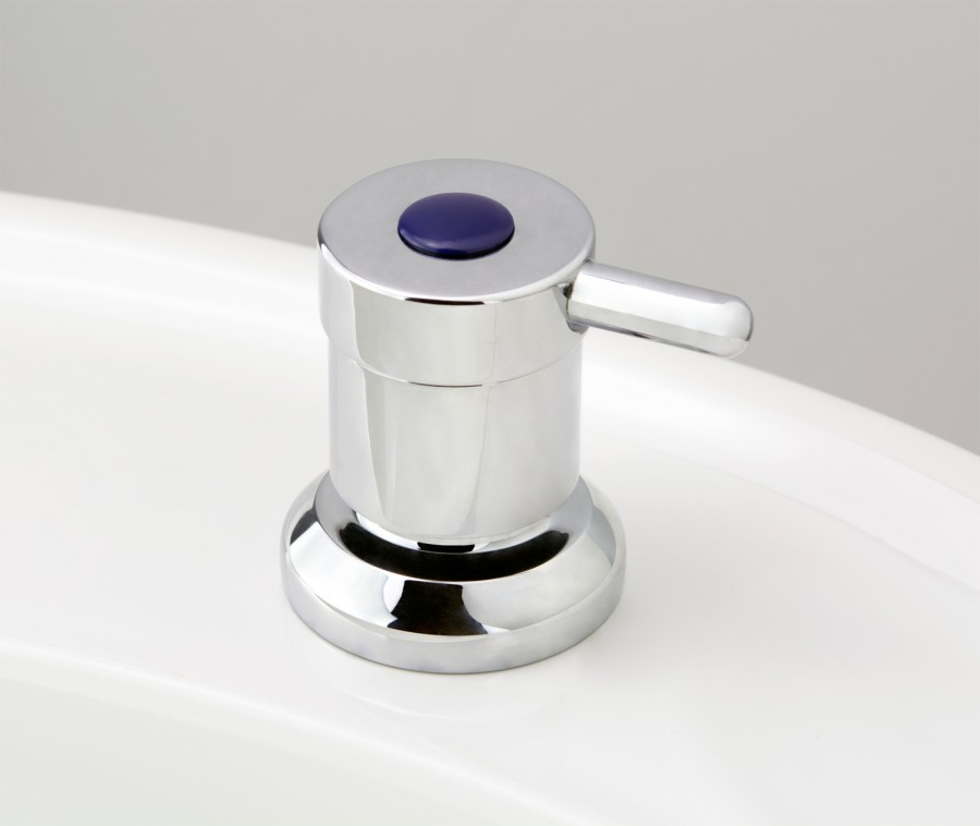 Torrens Lever Basin Top Assembly in Chrome Plate with Standard Cold Button