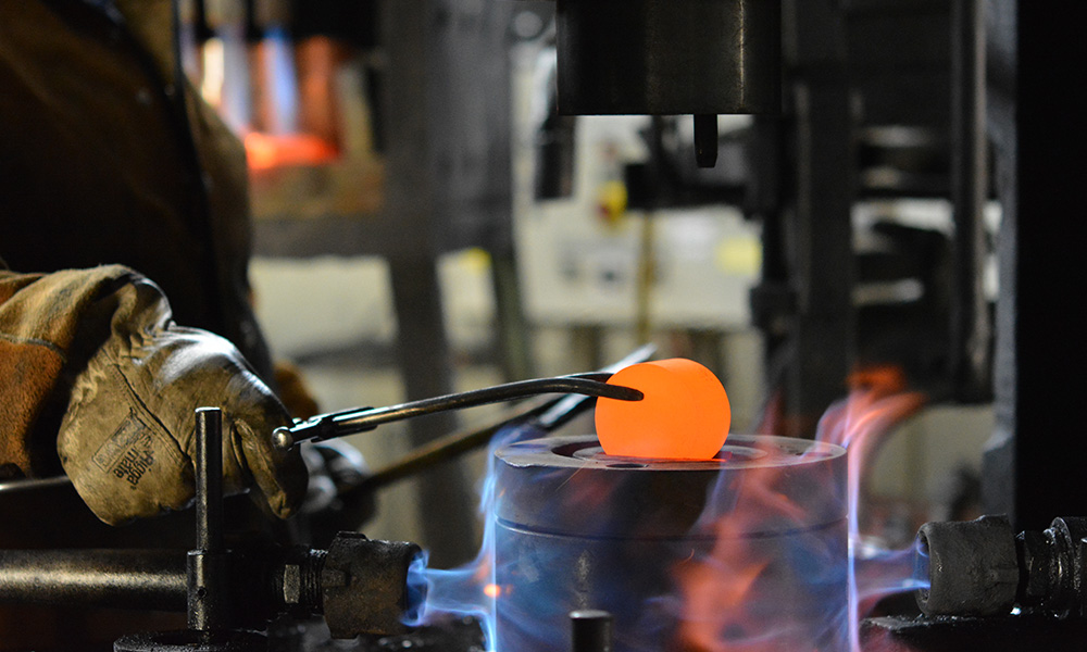 Brass Forging at Consolidated Brass