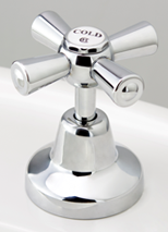 Roulette Redeux Basin Top Assembly in Chrome Plate Finish