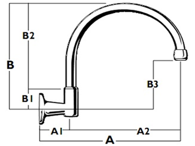 Roulette Wall Gooseneck Outlet - Diagram WALL-MTO-1