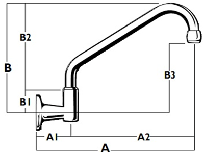 Roulette Wall Upswept Outlet - Diagram WALL-MTO-2