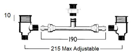 Basin Standard Under Assembly
